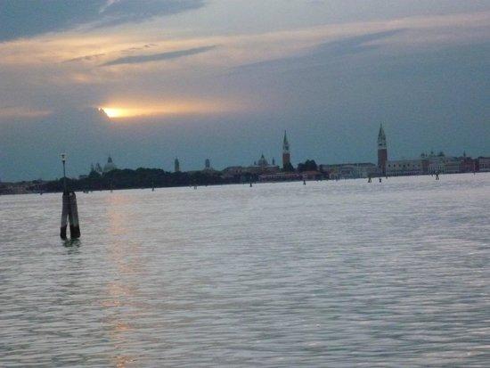 Hotel Panorama: Abendsonne über Venedig