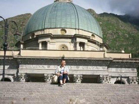 Santuario di Oropa: la cappella del santuario