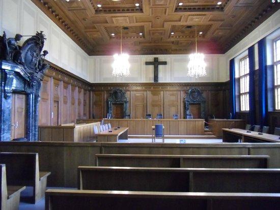 Justizpalast Nürnberg: AULA DEI 600