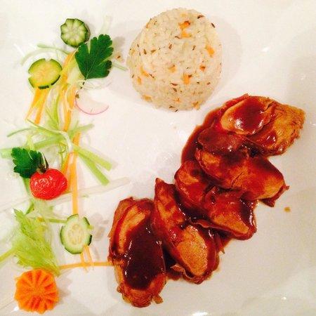 Il Banco Prosciutteria: Pollo al curry e riso pilaf
