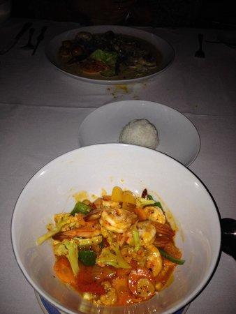 Le Jaenzan Restaurant : Sambal prawn
