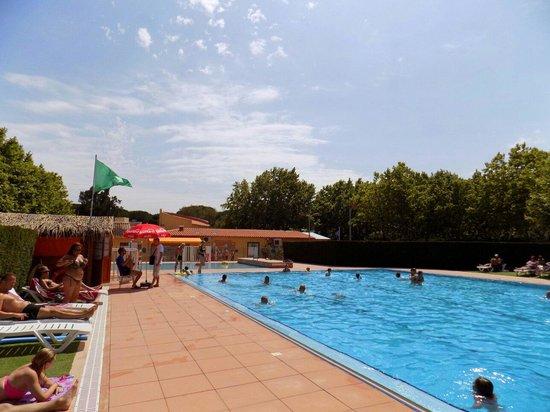 La Plage d'Argens : La piscina