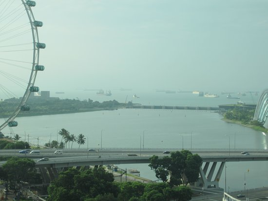 Mandarin Oriental, Singapore: Can See Sky Wheel Too