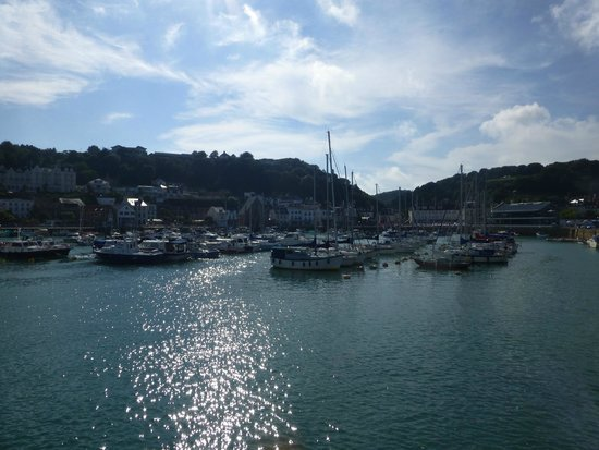 The Panorama: St Aubins Harbour
