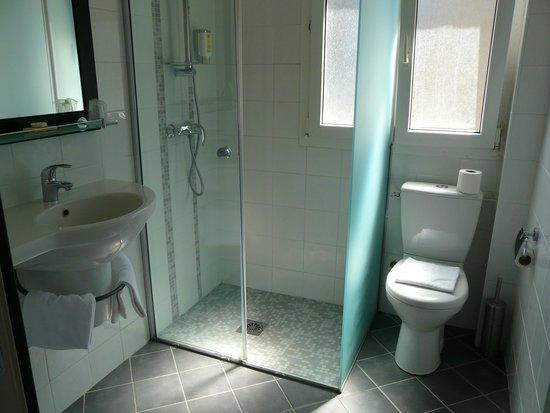 Hotel Cartier : Spotless shower room