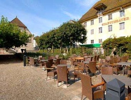 H4 Hotel Solothurn: Terrace