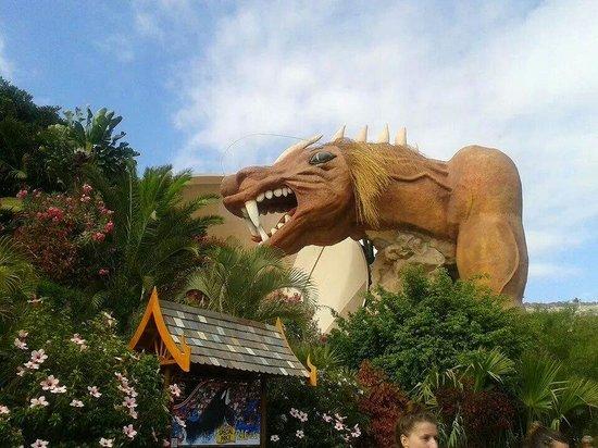 Siam Park: The Dragon was so fun!