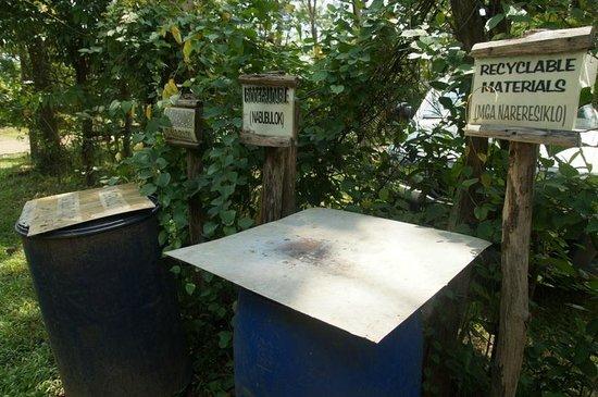 La Mesa Eco Park: Segregation of waste at la Mesa
