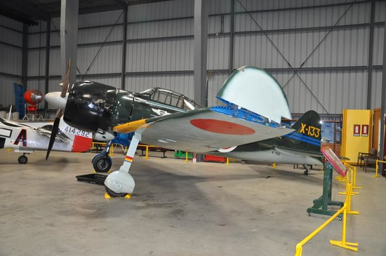 WWII Aviation Museum: A flyable Mitsubishi fighter