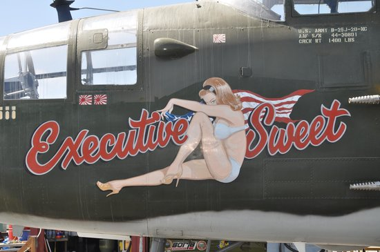WWII Aviation Museum: Executive Sweet