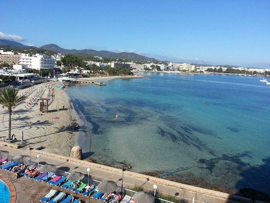 Intertur Hotel Hawaii Ibiza: vista dal balcone