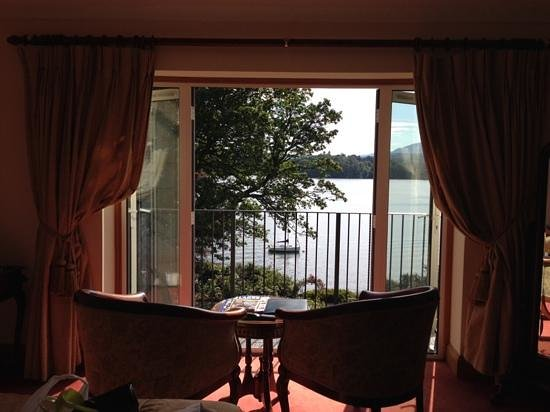 Langdale Chase Hotel: amazing room from the bedroom