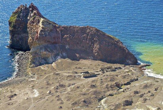 White Island Flights : Ruin's on White Island