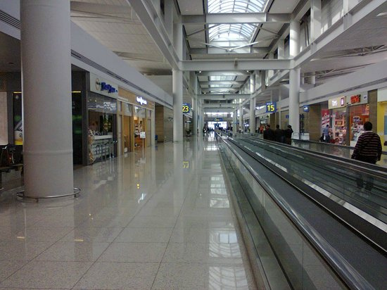 inside incheon international airport seoul korea - Picture ...