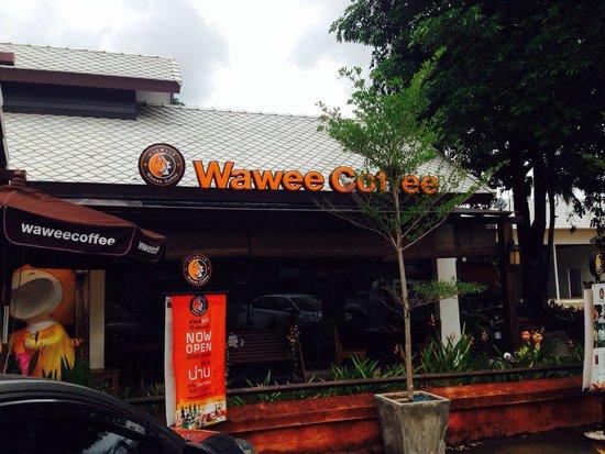Wawee Coffee : Coffee shop wawee at nan