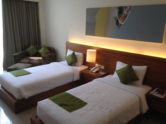 Taksu Sanur Hotel : Taksu Suite (twin share)