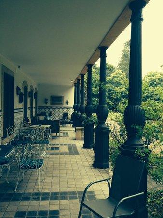 Hotel Quinta Duro: Stunning Terrace overlooking the gardens