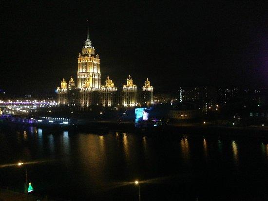 Crowne Plaza Moscow World Trade Centre: Вид из стандартного номера