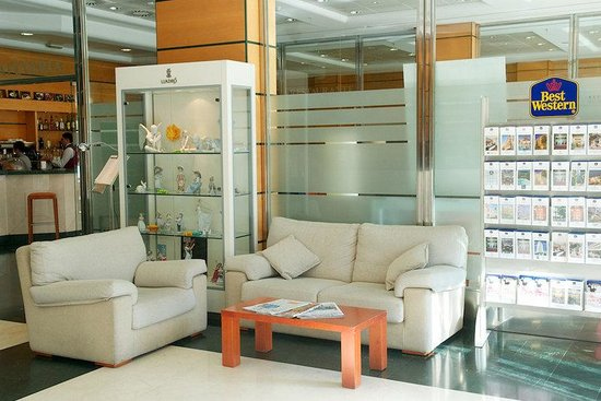 Hotel Albufera: Lobby