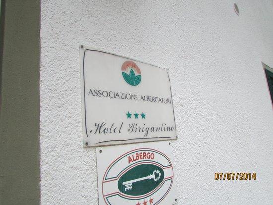 Hotel Brigantino : particolare