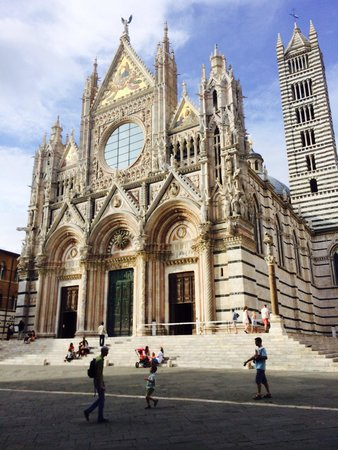 NH Siena: Beautiful cathedral in Siena
