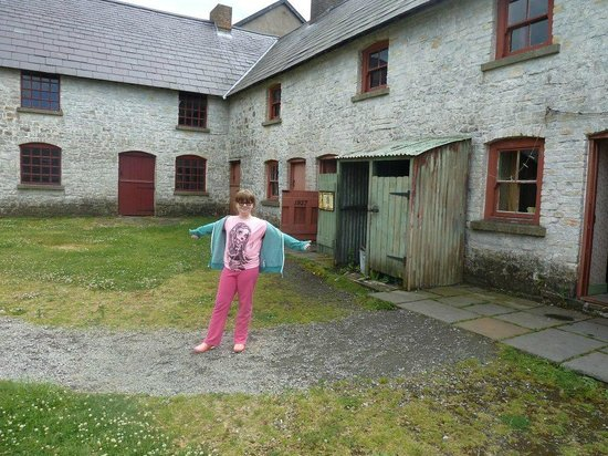 Blaenavon Ironworks: The Place where they filmed the Coal House BBC series,,,