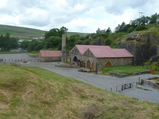 Blaenavon Ironworks: The main foundry and the spectacle of the iron industry