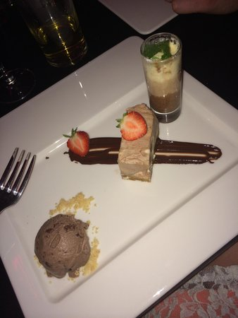 Opus One - Manchester: Trio of deserts