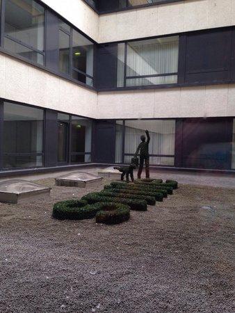 Park Plaza Cardiff: Lovely Hotel corridor