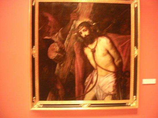 Museo de Bellas Artes de Sevilla: Christ with the cross.  Juan de Roelas