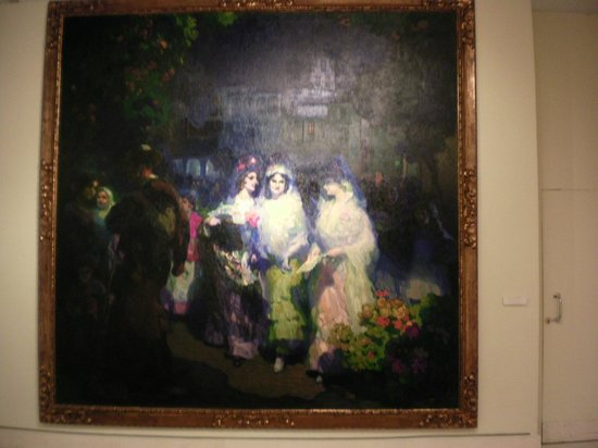 Museo de Bellas Artes de Sevilla: This is a painting from 1915 by Gustavo Bacarisis