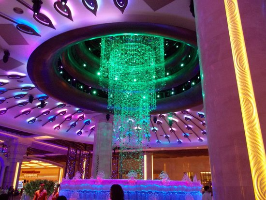 Exciting Lighting Show Welcomes You At