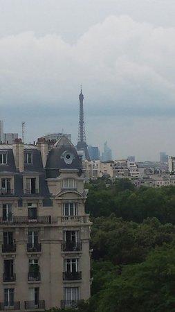 Hotel du Lion: Vista do quarto que fiquei!!!