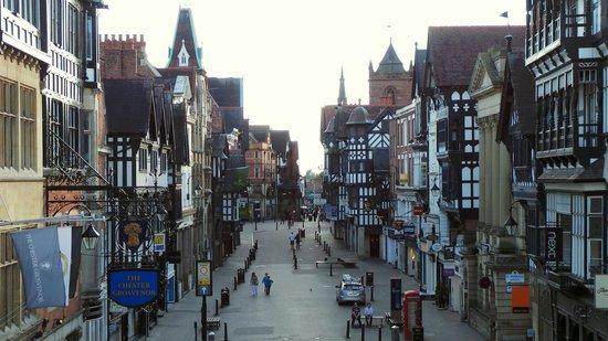 Premier Inn Chester City Centre Hotel : Chester town