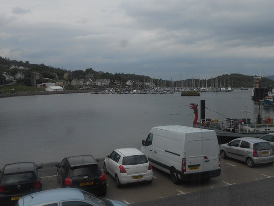 The Tarbert Hotel: View from room 1