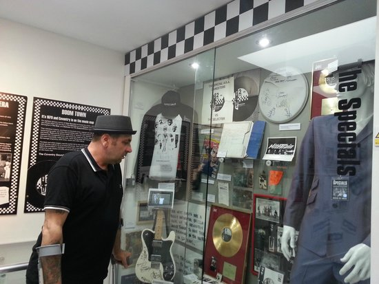 The Coventry Music Museum: The Specials' display in the museum