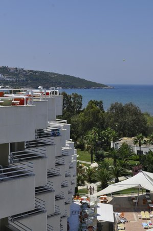 Richmond Ephesus Resort : Вид с 5 этажа