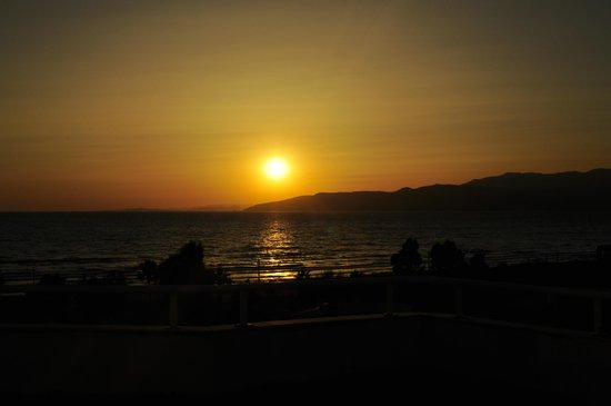Richmond Ephesus Resort : Закат