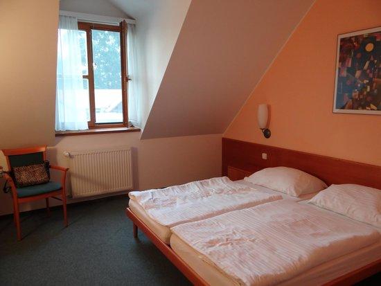 Hotel Hranicni Zamecek: Pokój dwuosobowy