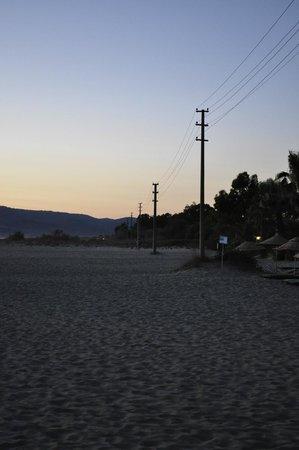 Richmond Ephesus Resort: Вечерний пляж