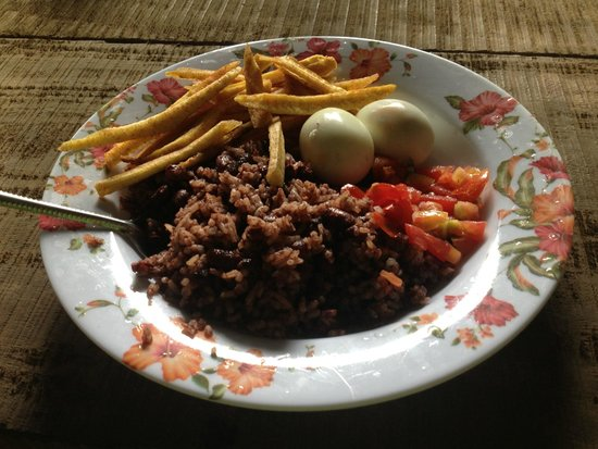 Chocoyero-El Brujo Natural Reserve: A homecooked meal is always appreciated