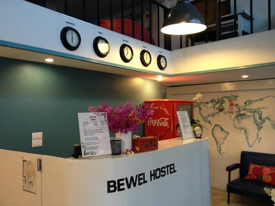 Bewel Hostel: reception area