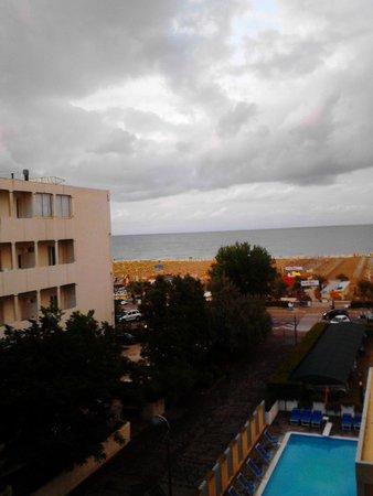 Hotel Tilmar: Vista dal terrazzo