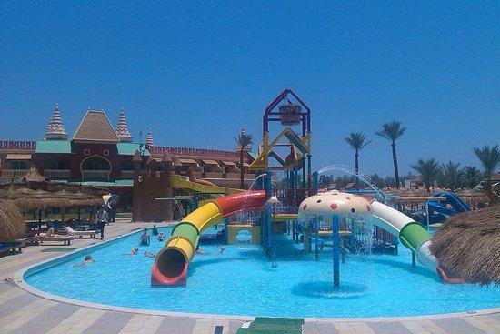 Aqua Blu Sharm : детские горки