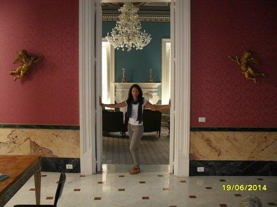 Palazzo Montevago: Living room