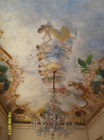 Palazzo Montevago : The ceiling