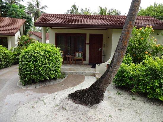 Kurumba Maldives: View of standard room from outside