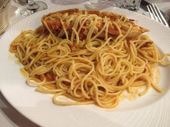 Niko's Taverna : spagheeti all'aragosta eccezionali