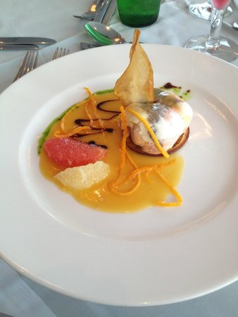 Grecian Bay Hotel: plat de menu
