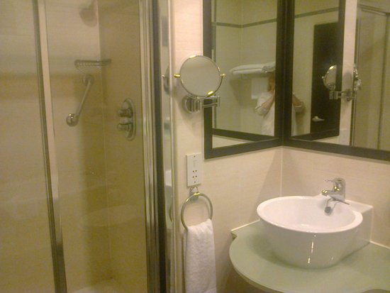 Crowne Plaza Hotel Dublin Airport: Room 331 - shower